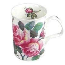 Roy Kirkham English Rose Lancaster Fine Bone China Mug SET/9 MADE I ENGL... - $179.90