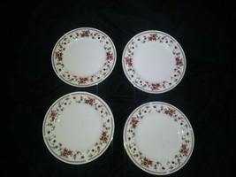 "4-Sheffield Porcelain Fine China Anniversary Dessert/Salad/Side Plate 6.5"" - $18.23"