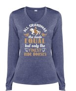 All Grandmas Are Made Equal But Only The Finest Ride Horses T Shirt, Spo... - $29.99+