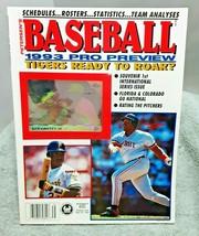 Petersens 1993 Baseball Pro Preview Magazine Griffey Jr Bonds Fielder - $9.89