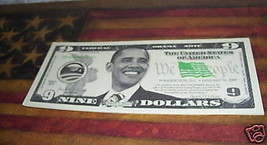 BARACK OBAMA NOVELTY PAPER MONEY FUNNY MONEY - $9.40