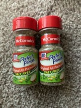 2 x McCormick Perfect Pinch Original All Purpose Salt-Free Discontinued BB 08/19 - $29.69