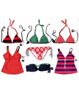 Sizes 6-14 - NWT $42-$75 Tommy Hilfiger Tankini & Bikini Swimsuit Separates - $21.37+