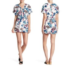 Adelyn Rae Womens Summer Leaf Print Cage Romper with Pockets FB1474 $98 ... - $43.44