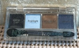 NYC New York Color MOD QUAD Creme Eye Liner + Eyeshadow ~ 856B Bell Bott... - $8.26