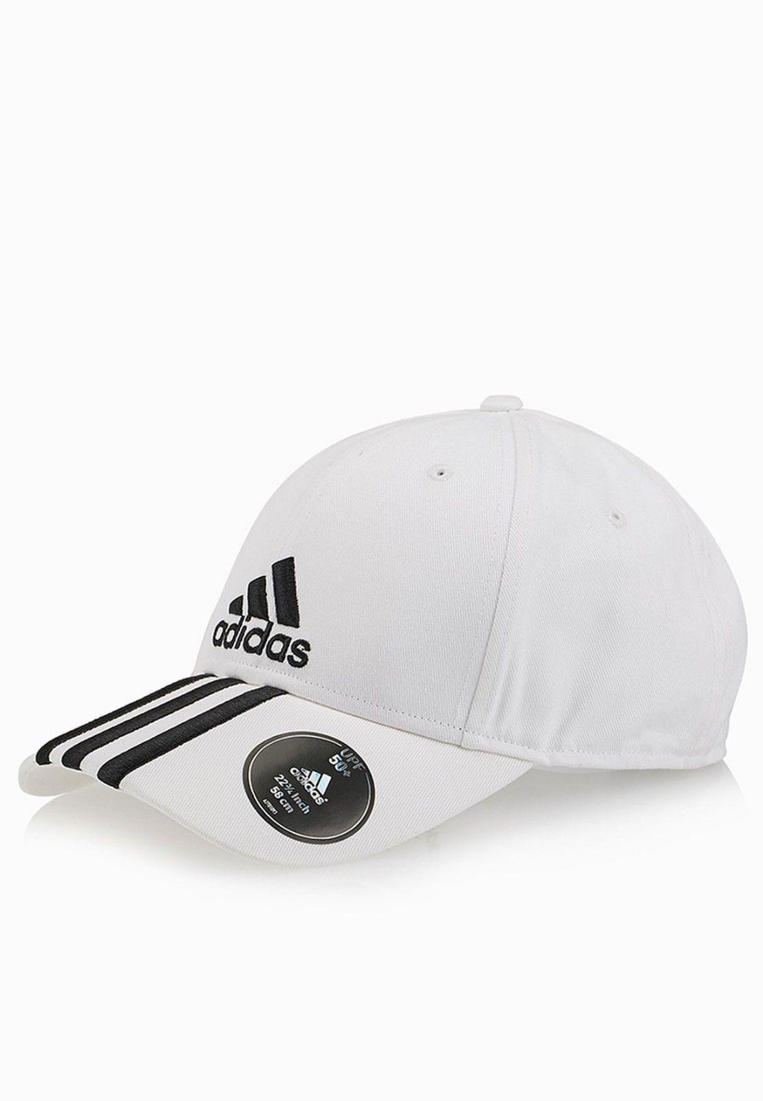 New Adidas Performance 3-Stripes Cap White hat -  39.24 97fcebf7db4b