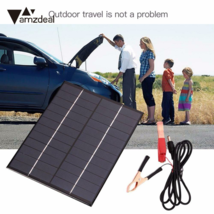 Solar Panel Battery Boat 12 Rv Charger 12v 100w 1 Mc4 Wire Connector 10 ... - $27.54