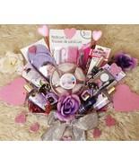 Valentine's Day Birthday Magnolia Bath Body Spa Pedi Mani Set Floating C... - $42.99