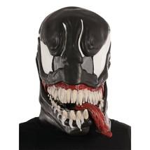 Venom Spider-Man Deluxe Costume 3/4 Mask Black - $24.98