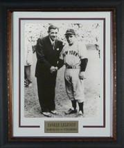 Babe Ruth unsigned New York Yankees Vintage B&W 11X14 Photo Custom Frame... - $123.95