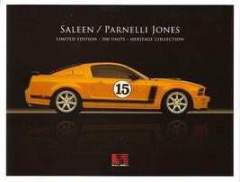 2007 Saleen PARNELLI JONES sales brochure folder Ford Mustang 07 - $10.00