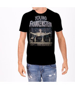 Young Frankenstein Electric Table Black Adult T-Shirt, NEW UNWORN - $14.50