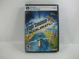 Microsoft Flight Simulator X Acceleration Expansion PC Computer Game Unt... - $21.79