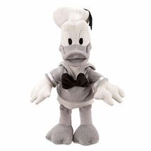 Disney Parks Donald Duck Black Gray 7 in Plush New with Tags - $13.21