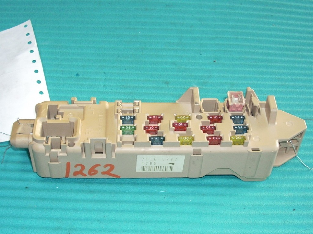 1998 MAZDA PROTEGE RELAY JUNCTION CABIN FUSE BOX  OEM