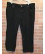Mens Lee Jeans 46 X 29 Relaxed Fit Comfort Waistband Black (VV16) - $14.84