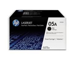 Genuine OEM HP CE505D 05A 2-Pack Black Original LaserJet Toner Cartridges - $179.99
