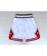 Chicago bulls shorts white swingan retro  classic throwback  athletic apparel thumbtall
