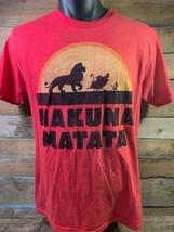 Disney Roi Lion Hakuna Matata Homme T-Shirt TAILLE M - $10.41