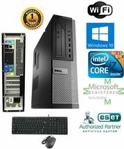 Dell Pc Sff Desktop Intel i7 3.40g 16GB New 1TB Hd Win 10 Dual- Hdmi - $361.90