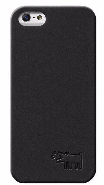 Case Scenario Keith Haring Pop Art DOG Black Iphone 5/5s Hard Snap case Cover NW