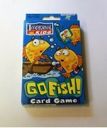 Go Fish! Classic Card Game - For 2 to 4 Players Ages 4 and Up - Imperial Kids - $5.00