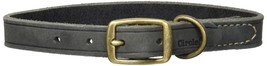 """Coastal Pet Products Circle T Rustic Leather Town Dog Collar, 5/8"""" x 14"""", Slate - $15.87"""