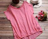 Loose blouse short batwing sleeve ladies casual shirt blusa feminina blusas casual thumb155 crop