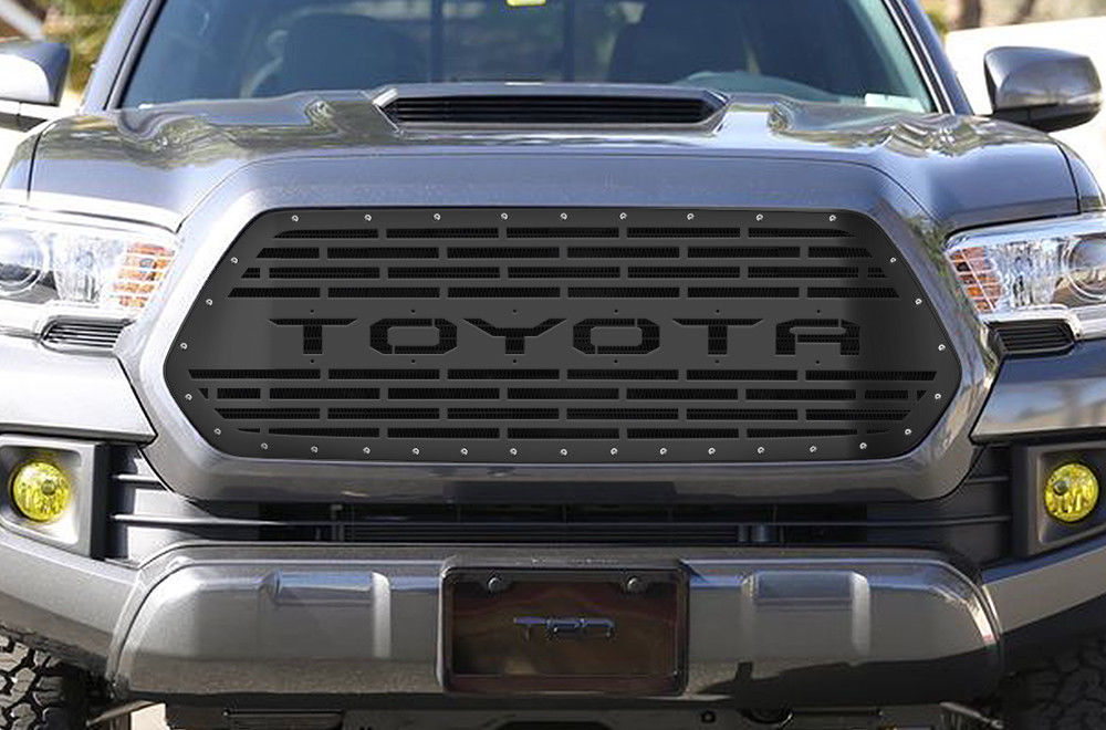 how to change grill tacoma