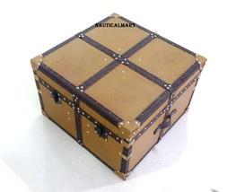 NauticalMart Aviator Mayfair Leather Trunk Coffee Table - $1,299.00