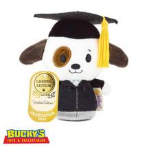 Graduation Dog Hallmark itty bitty bittys Grad Puppy Plush Stufffed Anim... - $19.74