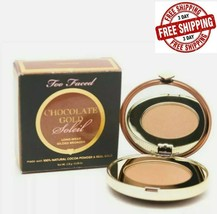 Too Faced Chocolate Gold Soleil Gilded Luminous Bronzer .09 Oz - $9.68