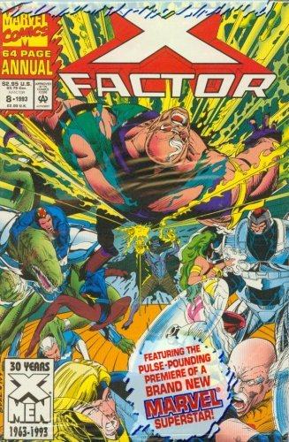 X Factor Annual #8 1993 [Comic] [Jan 01, 1993] X Factor