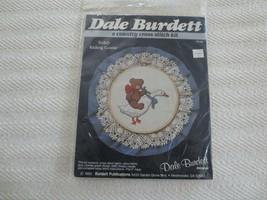 SEALED Dale Burdett TEDDY RIDING GOOSE Cross Stitch KIT #CK102  - Fits 6... - $5.00