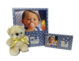 Baby Frame Gift Set with Teddy Bear - Perfect for Baby Showers and Nurse... - $12.86
