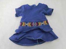American Girl Doll Saige Sage Copeland Blue Meet Outfit Dress  - $12.89