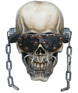 Halloween Megadeth Vic Rattlehead Deluxe Mask TOT's Officially Licensed - $83.91