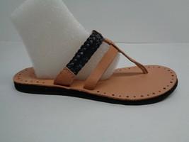 UGG Australia Size 7 AUDRA Black Leather Braid Sandals New Womens Shoes - $88.11