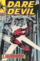 Daredevil Comic Book #44 Marvel Comics 1968 VERY FINE- - $30.88