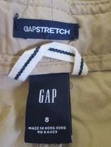 Ladies Size 8 tan corduroy cargo pants by GAP  MHELW345 - $12.63