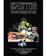 "Led Zeppelin ""The Song Remains The Same"" Movie Counter Top Stand-Up Disp... - $15.99"