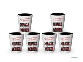 I'm a Psychiatrist shot glass- Not a Miracle Worker -Psychiatrist Gifts (6) - $37.45 CAD