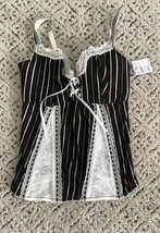 Fredericks of Hollywood black white corset  medium NWT - $21.51