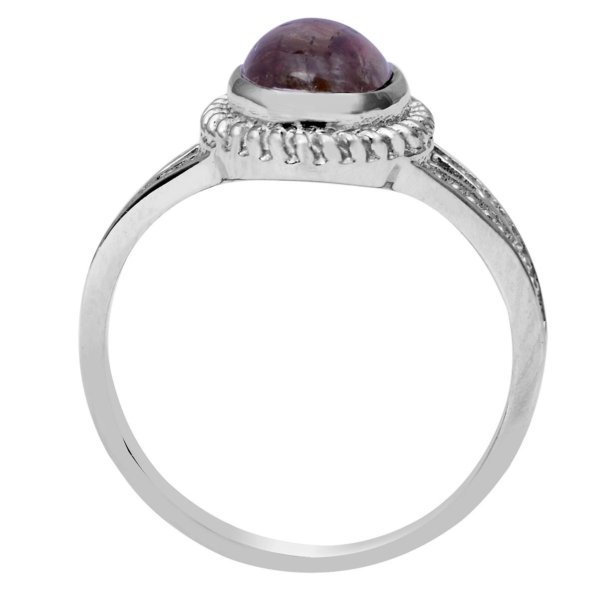 Handmade Tourmaline Gemstone 925 Sterling Silver Jewelry Ring Sz 6.5 SHRI0719