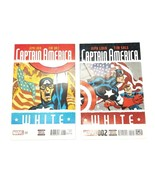 Captain America White 1 & 2 November 2015 Marvel Comics Jeph Loeb Tim Sale - $9.74