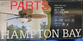 """PART ONLY - Blade Bracket w/screws - Lakemoore 48"""" Ceiling Fan - Matte B... - $11.87"""