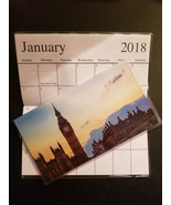 2018-2019 London Big Ben  2 Year  Pocket Planner Calendars - $1.88