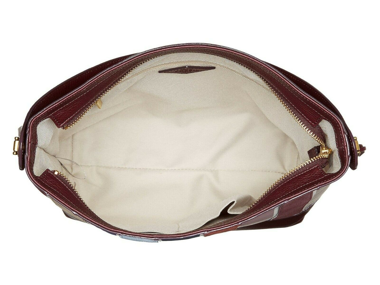 New Fossil Women's Maya Small Leather Hobo Bag Variety Colors image 14