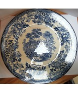 TONQUIN ROYAL STAFFORDSHIRE 10 INCH DINNER PLATE BY CLARICE CLIFF - $22.00