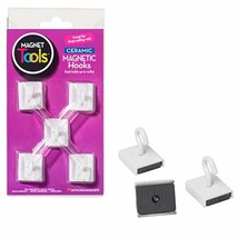 Dowling Magnets Ceramic Ceiling Hooks Set of 5 image 1